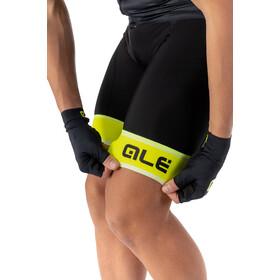 Alé Cycling Graphics PRR Sella Culotte con tirantes Hombre, negro/amarillo